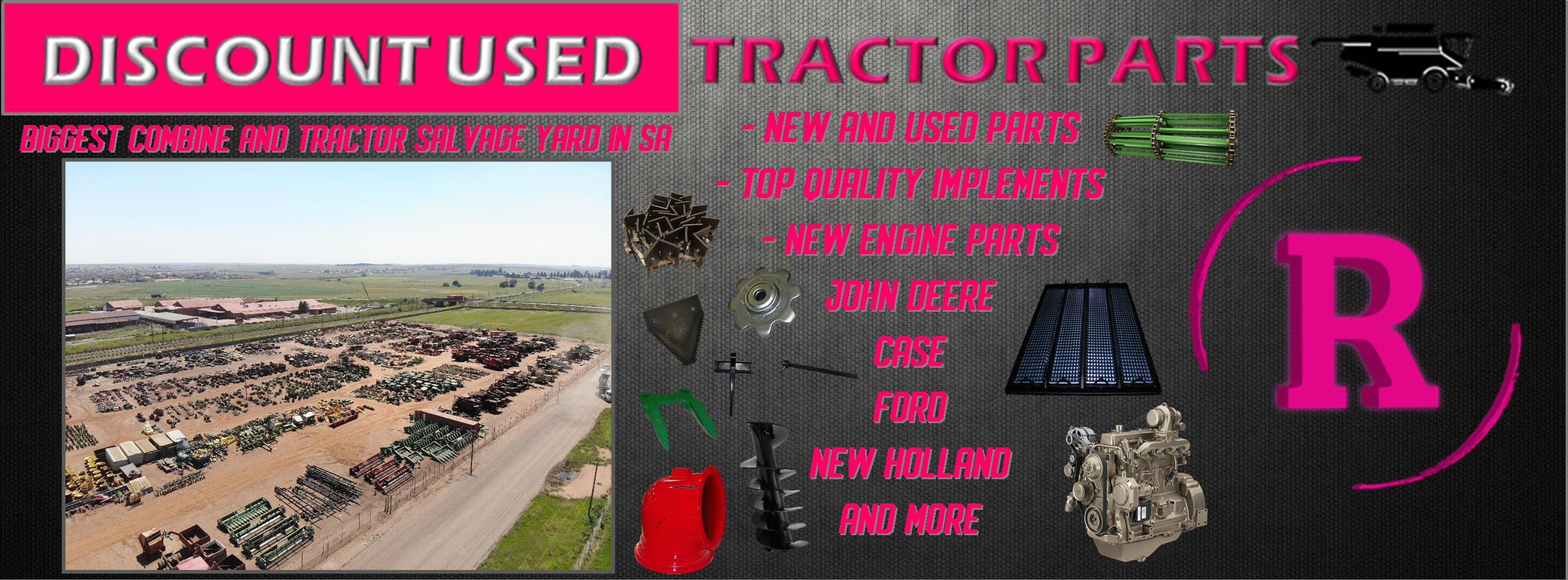 Discount Used Tractor Parts And Implements