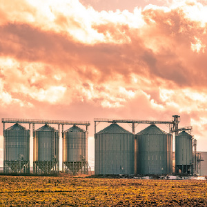 Silos in South Africa