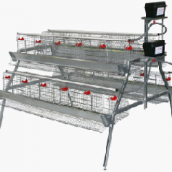 A-Frame Layer Cage