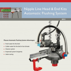 Nipple Line Head & End Kits Automatic Flushing System