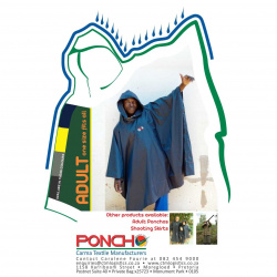 Poncho Adults
